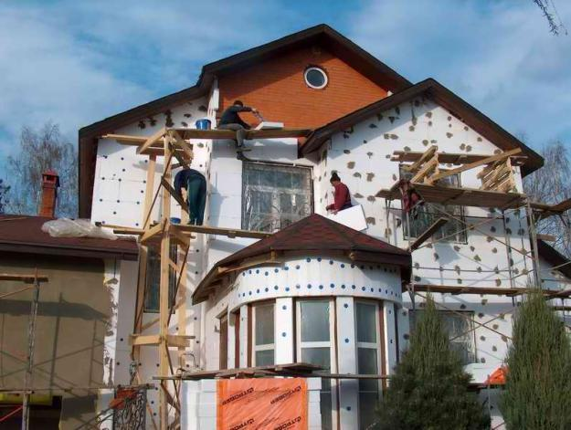 Декоративной штукатурки для фасадов как наносить